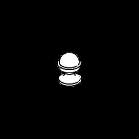 Шар из мрамора — тип 1