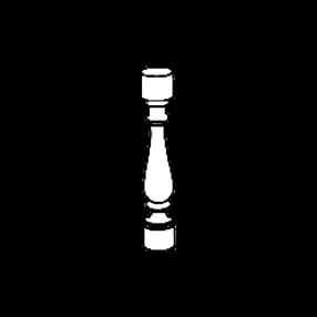 Балясина из мрамора — тип 1
