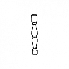 Балясина из мрамора — тип 6