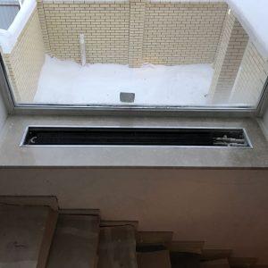 Подоконники с вырезом под радиатор